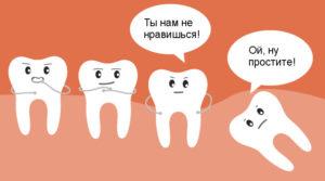 Когда следует удалять зуб мудрости?